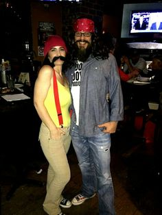 Easy and awesome Cheech u0026 Chong couples costume & Cheech n Chong - Halloween Costume Contest at Costume-Works.com ...
