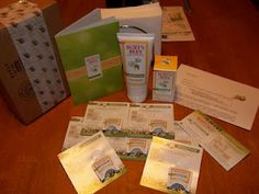 Mary's Craft Nook: Burt's Bees® Natural Skin Solutions for Sensitive Skin BzzCampaign - Bzzagent Campaign!