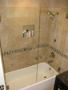 frameless shower doors - Bathtub Shower Doors