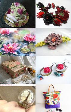 Little flowers by Helen on Etsy--Pinned with TreasuryPin.com