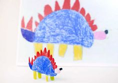 This Amazing Project Turns Your Kids' Drawings into Objects via Brit + Co. Drawing For Kids, Art For Kids, Crafts For Kids, Arts And Crafts, Carnival Of The Animals, 3d Printed Objects, Kids Artwork, Artwork Ideas, Kids Behavior