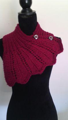 scalda collo sciarpa lana maglia donna, by maglieria magica, 25,00 € su misshobby.com