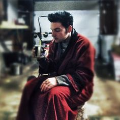 I'm not crying I just have William Control in a robe in my eyes