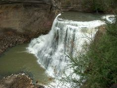 Burgess Falls in middle Tennessee