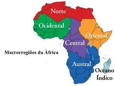 Macrorregiões da África