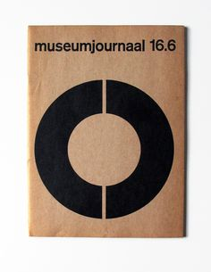 magazine cover by by Jurriaan Schrofer (1971)