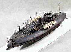 USS Keokuk model.