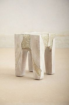 Anatolia Stool: This resin stool ($998) reminds us of something we would find in a very chic European hotel lobby.