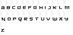 Made in China free font
