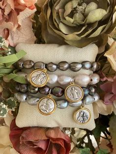Saint Medal Bracelets – Two Palms Designs