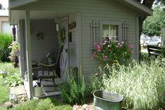 Potting Shed Decorating Ideas | Potting Shed Spring 2008 ...more - Garden Designs - Decorating Ideas ...