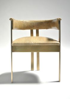 By Kelly Wearstler gold chair