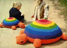 crochet turtle | PATTERN! I need the pattern for this!!! My winter will be better crocheting a turtle :D :D