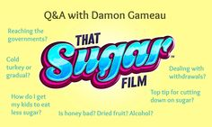10 great questions and 10 great answers about sugar from Damon Gameau after the Auckland screening of That Sugar Film. I loved #1, #7 and #10 in particular. (From my site: www.exsugarholic.com)