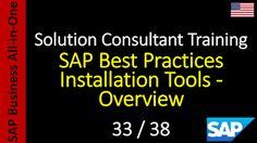 SAP - Curso Grátis Online: 33-38 - SAP Best Practices Installation Tools - Ov...