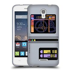 Official Star Trek Padd Gadgets TNG Soft Gel Case for Alcatel OneTouch Pop Astro * You can get additional details at the image link. (Note:Amazon affiliate link)