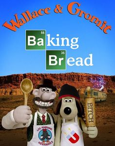 Wallace & Gromit - Baking Bread - from ultrachronic