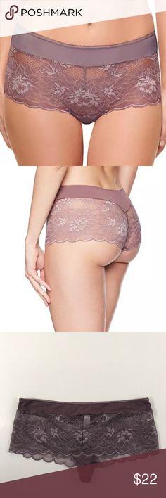 NEW Wacoal 'Fire and Lace' Boyshort (845252) 5-S NEW Wacoal 'Fire and Lace' Boyshort (845252) Size US 5-S BROWNISH PURPLE Wacoal Intimates & Sleepwear Panties