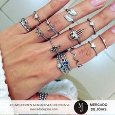 @multbrilhosfolheados Anéis lindos como estes no atacado só em www.mercadodejoias.com    #semijoias #acessorios #Jewel #amei #brincos #itgirl #moda #tendencias #jewelry #today #amomuito #saopaulo #estilo #glamour #folheados #bruto #bijouterias #bijoux #altabijoux