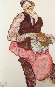 Lovers Egon Schiele Artist : More At FOSTERGINGER @  Pinterest