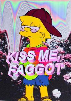 corina was here :) Simpsons Meme, The Simpsons, Simpson Tumblr, Diy Wallpaper, Dope Art, Weird Art, Weird World, Soft Grunge, Vaporwave