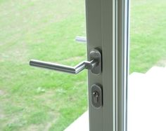 The steel windows and doors used a combination of RC2 tested integrated locks and handles, as well as more traditional latches for the top hung windows.