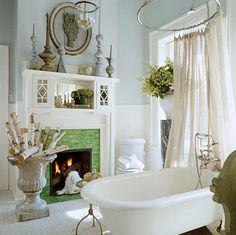 tub+fireplace = <3