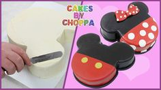 Mickey And Minnie Mouse Cake Mickey Mouse Birthday Cake, Mickey Y Minnie, Minnie Mouse Cake, Disney Mickey, Cakes Without Fondant, Gateaux Cake, Oreo Pops, New Cake, Disney Cakes