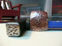 Handmade Jewelry by LjB: Circle Texture Tutorial