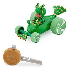 Disney Minty Zaki Racer - Wreck-It Ralph | Disney StoreMinty Zaki Racer - Wreck-It Ralph - Get a major Sugar Rush when you spin-out with Minty's super-fast, fun-wrapped race car with key-launcher. Just put in the key, push the button and let her rip! Collect all twelve racers in this series.