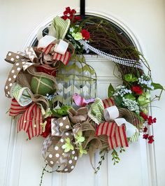 A personal favorite from my Etsy shop https://www.etsy.com/listing/269639601/birdcage-wreath-spring-wreath-spring