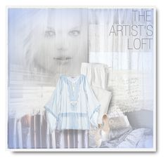 """""""THE ARTIST'S LOFT"""" by kiki-parker ❤ liked on Polyvore featuring Calvin Klein, Ella Doran, Serena & Lily, IN BED, J.Crew, Calypso St. Barth and Charlotte Russe"""