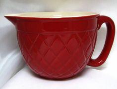 Vintage Ceramic Batter Bowl Mix and Pour. Want.