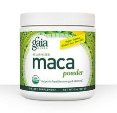 Since the days of the Inca Empire, Maca has been used as a caffeine-free, plant-based performance enhancer.* It has traditionally been used to promote energy and vitality, and support a healthy libido