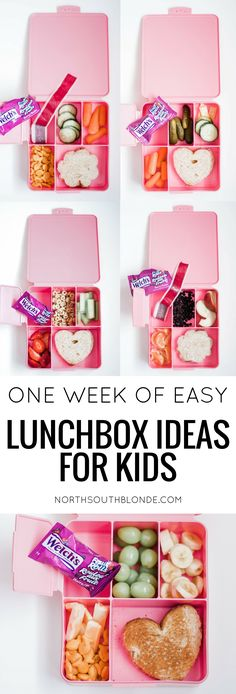 One Week of Easy Lunchbox Ideas For Kids You don't have to stress about what to pack in your child's lunch anymore with Welch's Fruit Rolls. These affordable lunchbox ideas are quick and easy, and, most of all, kid approved! Parenting Tips Quick Healthy Lunch, Healthy Toddler Meals, Healthy Snacks For Kids, Toddler Food, Healthy Meals, Fruit Box, New Fruit, Fruit Snacks, Kids Lunch For School