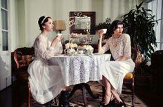 Tea Party fashion Editorial. Flux Magazine. Bayer estate. Formidable fun.