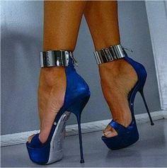 Beautiful Stylish Open Toe Platform Stiletto High Heels #hothighheels #shoeshighheelsunique #sandalsheelsblack