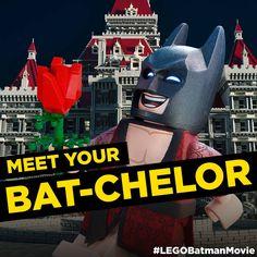The most eligible Bat-chelor in America. #LEGO #Batman #LEGOBatman #LEGOBatmanMovie #DCComics #SuperHeroes #EverythingIsAwesome #MashupMadness #CombineYourLEGO #UpgradeYourLEGO #BuildSomethingSuper #BuildSomethingBatman #AwesomeAwaits