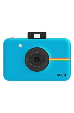 How fun! This Polaroid 'Snap' instant digital camera is there, and ready to capture all the memories.
