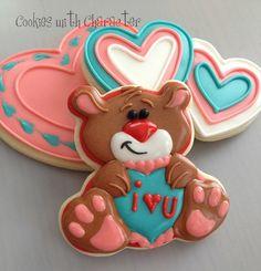 Valentine's Day Bear Cookies