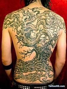 Black Cherry Tree Branch Tattoo  Tattoos