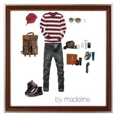 """""""mens clothing"""" by madelinerich ❤ liked on Polyvore featuring Gap, Kjøre Project, Ray-Ban, Carhartt, Ralph Lauren, Clinique, Molton Brown, men's fashion and menswear"""