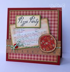 With a Stamp and a Song: Pizza Party!  That's Amore`