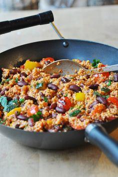 Mexican Food Recipes, Real Food Recipes, Vegetarian Recipes, Cooking Recipes, Healthy Recipes, Healthy Cooking, Healthy Eating, A Food, Food And Drink