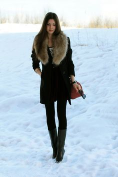 Snowy fashion