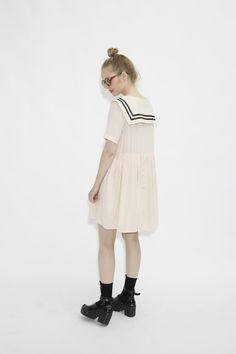 Sailor Girl - THE WHITEPEPPER http://www.thewhitepepper.com/collections/dresses/products/sailor-dress-pink