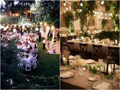 Tendências de Casamento 2016 Varal de Luzes