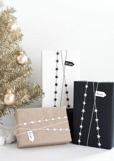 skandinavisch geschenke verpacken weihnachtsgeschenke verpacken