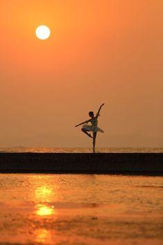 Shall We Dance - girlbehavingbadly: her night ballet begins in my...