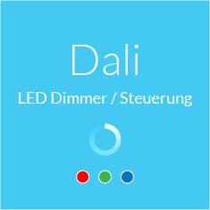 KNX, Dali LED Dimmer / Steuerung